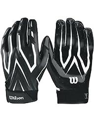Wilson Clutch Skill Glove, Adult, black Medium