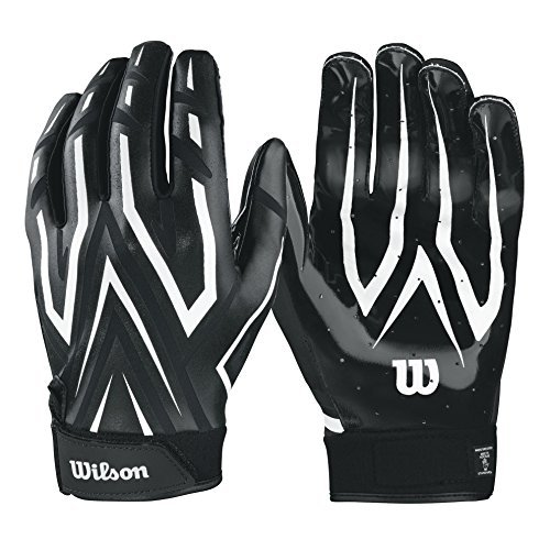 Wilson The Clutch Skill American Football Handschuhe - schwarz Gr. XL