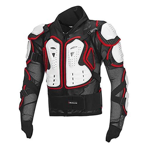 ALZHP Motocross Giacca, Moto Protezione, Spina Dorsale Protezione Professionale, per Motocross, Motociclismo, Mountain Bike, Skateboard E Snowboard,D