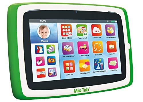 """tablet bambini 3 anni Liscianigiochi-Mio Tab 7"""" Preschool Tablet Prescolare"""