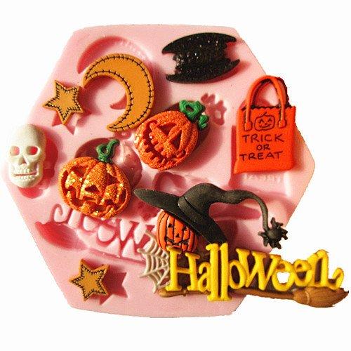 Silikon-Form zu verwenden Lebensmittel Thema Halloween (Backen Themen-schmuck)