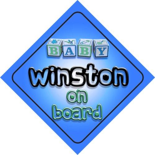 winston-bebe-garcon-sur-planche-nouveaute-voiture-panneau-cadeau-cadeau-pour-nouveau-nouveau-ne-bebe