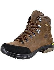 GUGGEN MOUNTAIN Los hombres zapatos de senderismo botas de trekking Montanismo Botas de montana impermeable con suela de Vibram HPM50