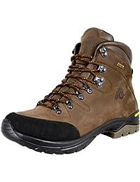 GUGGEN MOUNTAIN Pataugas Chaussures de randonnee Chaussures montantes Hiking Boots Unisex Bottes et boots impermeables homme VIBRAM semelle HPM50