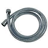 Duschschlauch Brauseschlauch mit Drehkonus (Verdrehschutz / Anti-Twist) 150 cm / 1 5m für Handbrause / Duschbrause Standard Anschluss / Gewinde optimal für die Badewanne von SANIXA ®