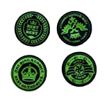 New World Green King's Choice Designer Series Thumb Grip for PS4, Xbox One, Xbox 360 & PS3 ( 4 PC)