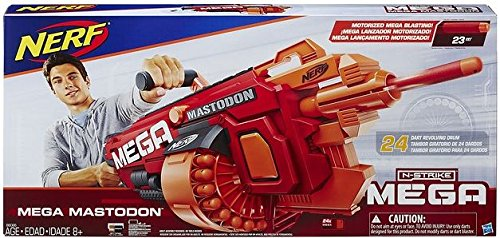 Nerf - Lanzadardos Mega Mastodon (Hasbro...