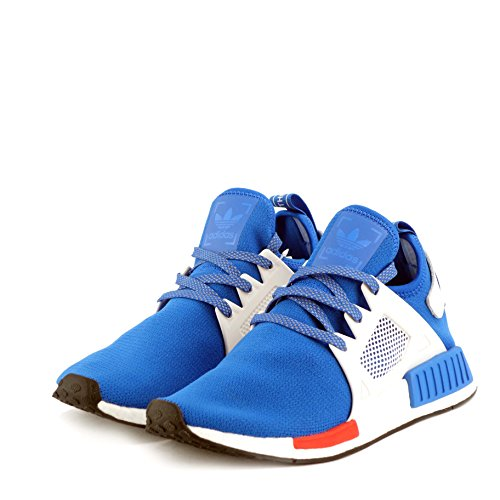 adidas , Herren Sneaker Blue Bird-Vintage White-Red CG3092 42 2/3 EU Blue Red White CG3092