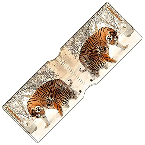 Stray Decor (Tiger and Cub) Travel, Credit, Oyster Card Holder / Bus Pass Wallet