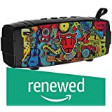 (Renewed) Ant Audio Treble X 900 Portable Enhanced Bluetooth Speakers- 6W with Mic, FM, USB, SD Card and with TWS Pairing Function- Black