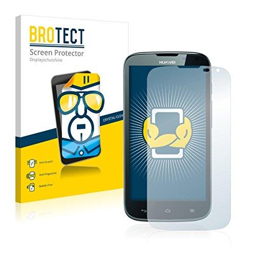 2X BROTECT HD Clear Bildschirmschutz Schutzfolie für Huawei Ascend G610 (kristallklar, extrem Kratzfest, schmutzabweisend)