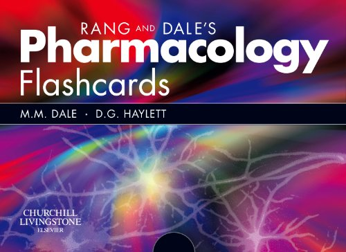 Rang and Dale's Pharmacology Flash Cards (Pharmakologie-flash-karten)
