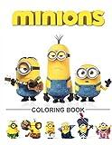 #8: Minions Coloring Book: Despicable Me