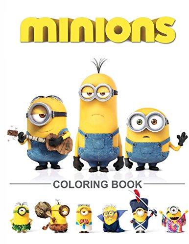 Minions Coloring Book: Despicable Me