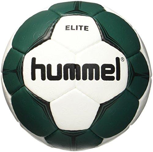 Hummel Kinder Smu Elite HB Handball, White/Green, 1