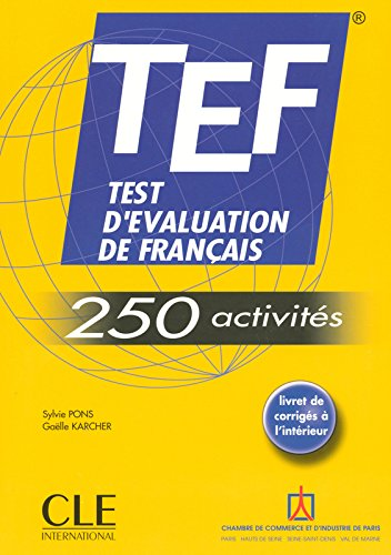 Test D'evaluation De Francais: 250 Activites