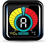 KLIQ UberTuner - Clip-On Tuner for All Instruments - with Guitar, Bass, Violin, Ukulele & Chromatic Tuning Modes