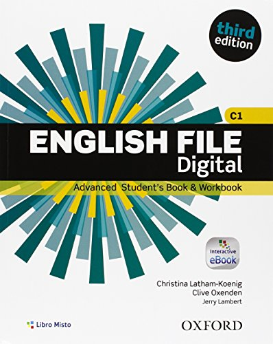 English file. Advanced. Student book-Work book. Without key. Per le Scuole superiori. Con e-book. Con espansione online