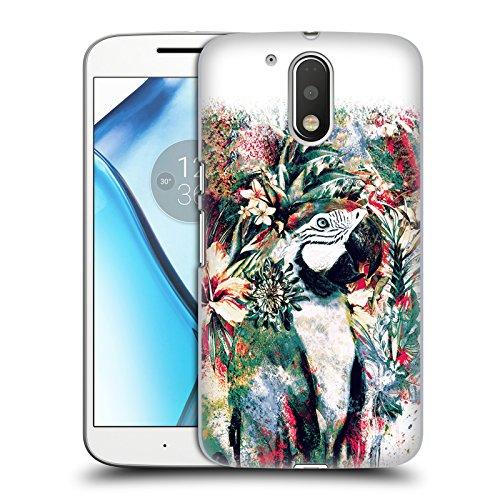 Official Riza Peker Parrot Animals Hard Back Case for Motorola Moto G4/G4...