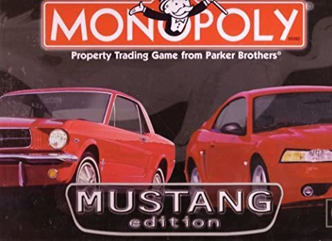 Monopoly : Mustang Edition by Parker Bros.