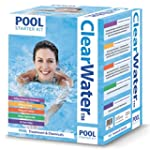 Clearwater Pool Chemicals Kit - White...