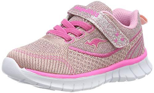 KangaROOS Unisex Baby Mini-Lite EV Sneaker, Rot (Dusty Rose/Daisy Pink 6129), 24 EU
