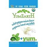 YumEarth - Caramelos Orgánicos de Frutas sabor a menta - 30 unidades