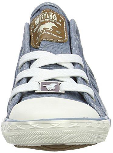 Mustang 1099-302-9 Damen Sneakers Blau (Himmelblau)