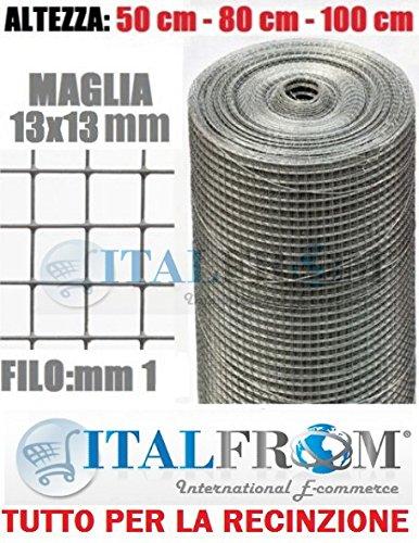 ITALFROM - Rollo Malla metálica galvanizada 25 m
