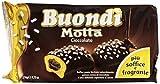 Buondì - Cioccolato, Prodotto Dolciario da Forno a Lievitazione Naturale con Crema, Pacco da  6X46 g, totale: 276 g