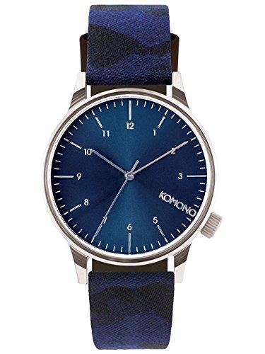 komono-winston-print-camo-bleu