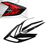 Odster ABS Auto-Hintere Endst¨¹ck-Licht-Lampen-Abdeckungs-Ordnung Aufkleber Fit f¨¹r Honda Civic Sedan 10. 2017 Auto Exterior Zubeh?r Styling