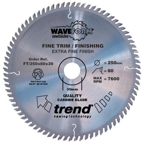 TREND FT/160X48X20 SAW BLADE FINE TRIM 160MM X 48 TEETH X 20MM