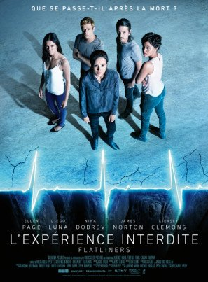 FLATLINERS – 2017 – French Movie Wall Poster Print - 30CM X 43CM Brand New