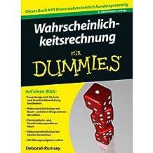 [WAHRSCHEINLICHKEITSRECHNUNG FUR DUMMIES] by (Author)Rumsey, Deborah on Jan-18-12