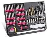 67 teiliges Makita Bitset / Bohrerset / Werkzeugset in praktischer Halterung platziert / ideal als Einsatz für Werkstattwagen