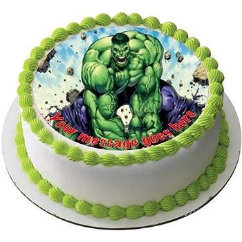 Torte Compleanno Bambini Hulk.Sfoglia In Pasta Di Zucchero Commestibile Per Torte Pretagliata