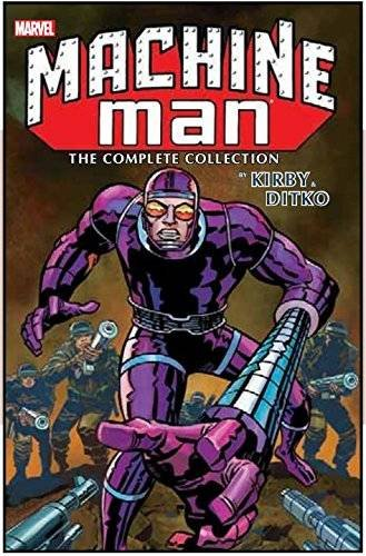 machine-man-by-kirby-and-ditko-complete-collection