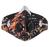 niceEshop WOLFBIKE Half Face Ski Snowboard Fahrrad Motorrad Maske Headwear