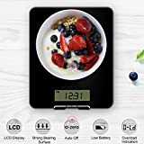 #3: MCP Electronic Digital Kitchen Weighing & Volume Measurement Scale Upto 10 Kgs with Digital Clock - Black/White