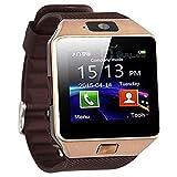 CEKA TECH® Bluetooth Smart Watch, con fotocamera, touch screen curvo, supporto per scheda SIM/TF,...