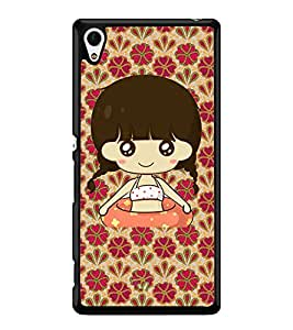 Printvisa 2D Printed Girly Designer back case cover for Sony Xperia Z4 - D4323