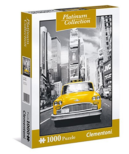 Clementoni 39398 - Puzzle 1000 2 Platinum Collection: New York