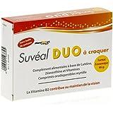 SUVEAL DUO à croquer - Complément alimentaire à base de Lutéine, Zéaxanthine, Vitamines et Zinc - Boite de 90...