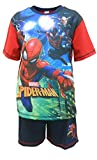 Marvels Spiderman Spiderman Spider Costumes Ragazzi Shortie Pigiama 7-8 anni