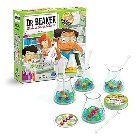 BLUE ORANGE GAMES Dr. Beaker Science Speed Logic Board