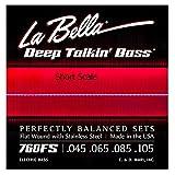 La Bella 760FS Short Scale 045 065 085 105 für kurze Mensur
