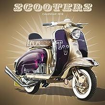 Scooters - Motorroller 2018: Original Carousel-Kalender