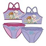 Frozen Bikini AUSWAHL Badenanzug Beachware Bademode Kinderkleidung Anna Elsa Die Eiskönigin (Pink, 4 Jahre)