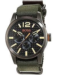 Hugo Boss Orange - Reloj análogico de cuarzo con correa de tela para hombre - 1513312